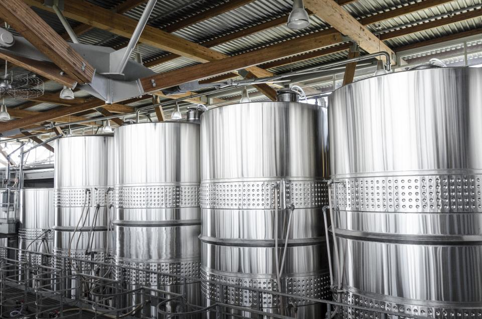 stainless steel drums winery