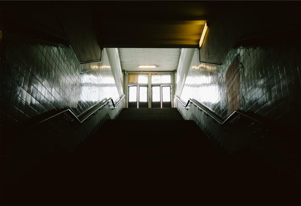 Free stock photo of stairwell stairway