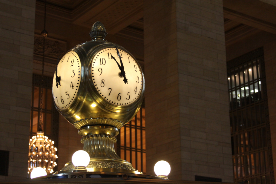 station clock new york