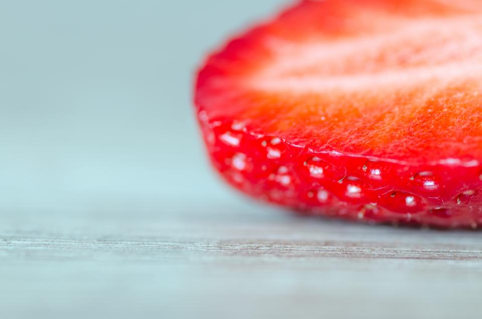 strawberry fruits food