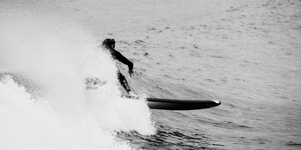 Free stock photo of surfer wave