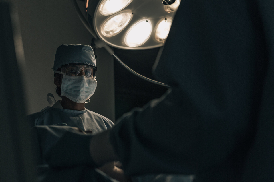 Free stock photo of surgeon scrubs