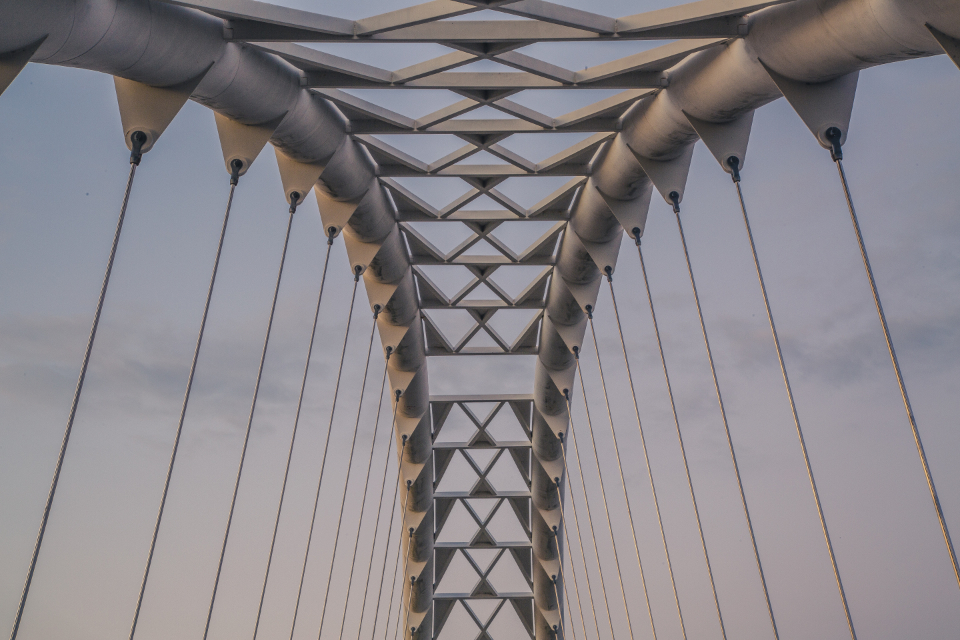 suspension bridge architecture