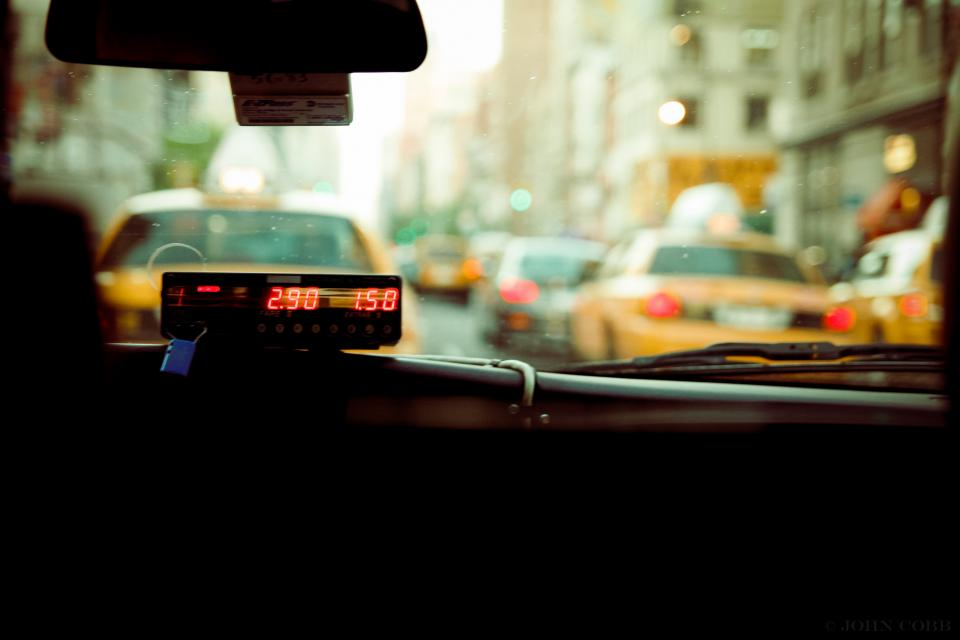 Free stock photo of taxi meter