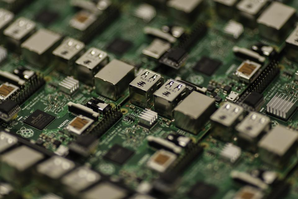 Free stock photo of technology chips