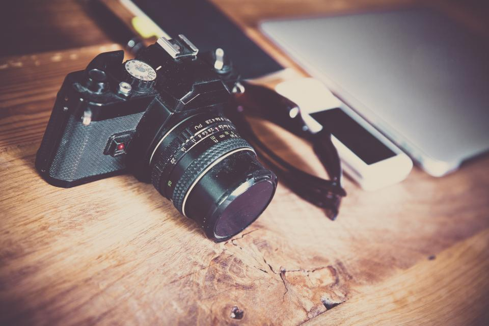 technology photography gadgets