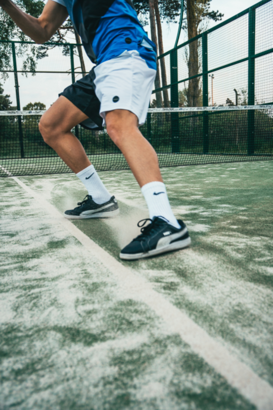 tennis player action