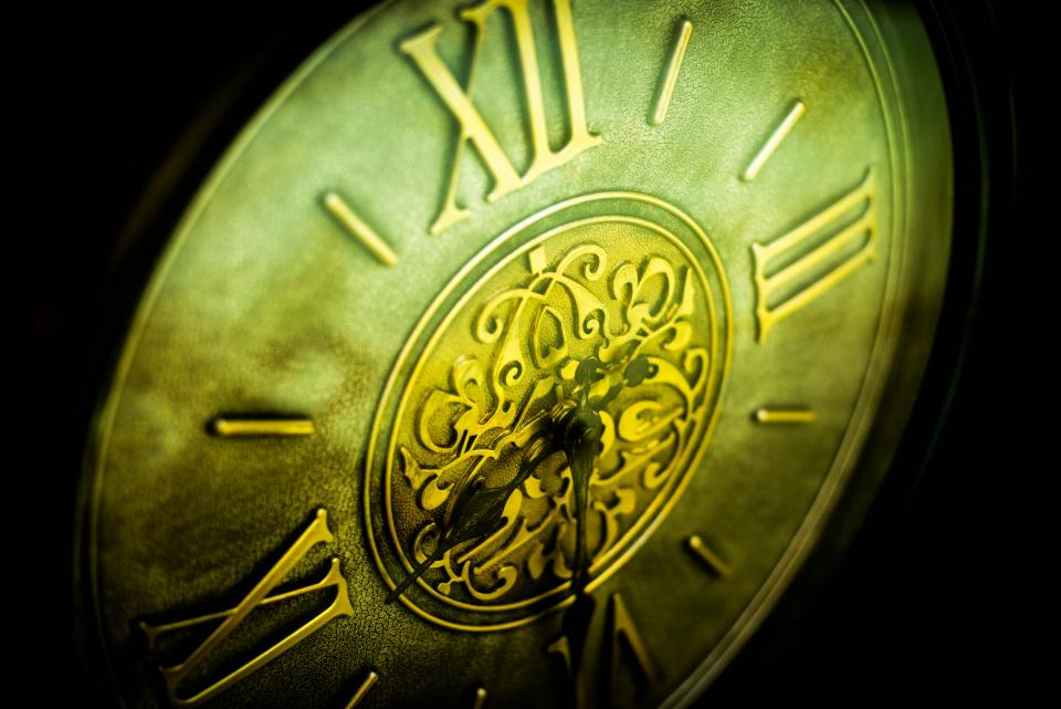 Free stock photo of time clock
