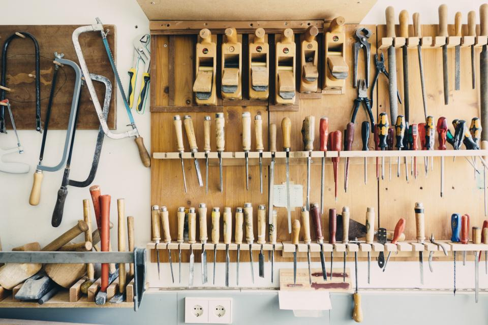 tools workshop garage