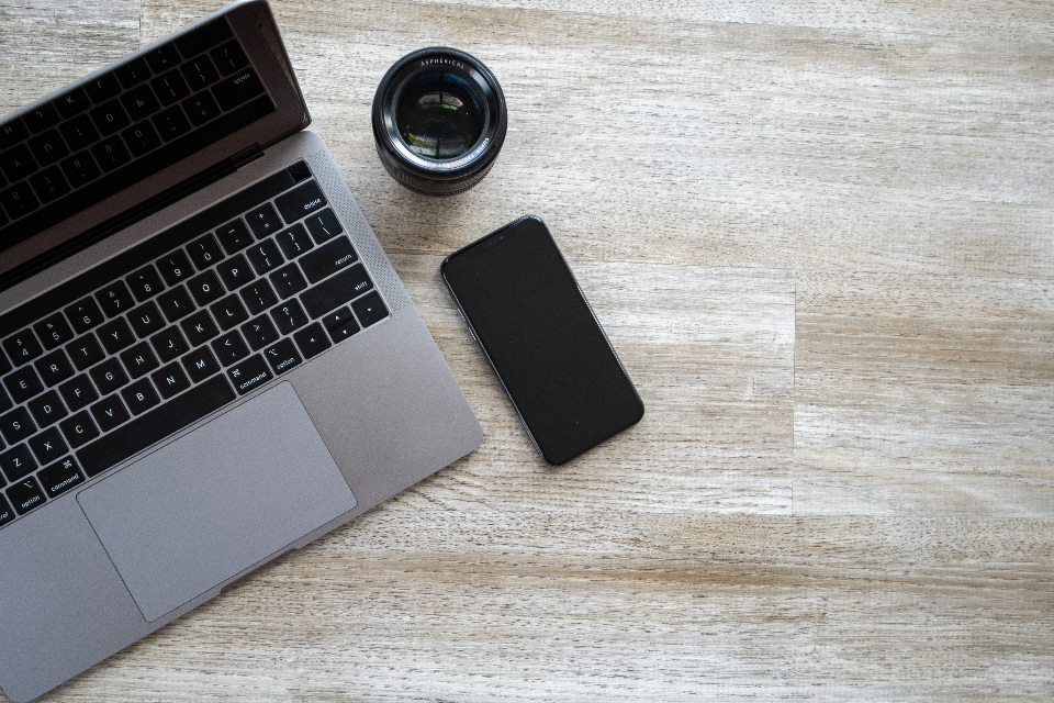 Free stock photo of top workspace
