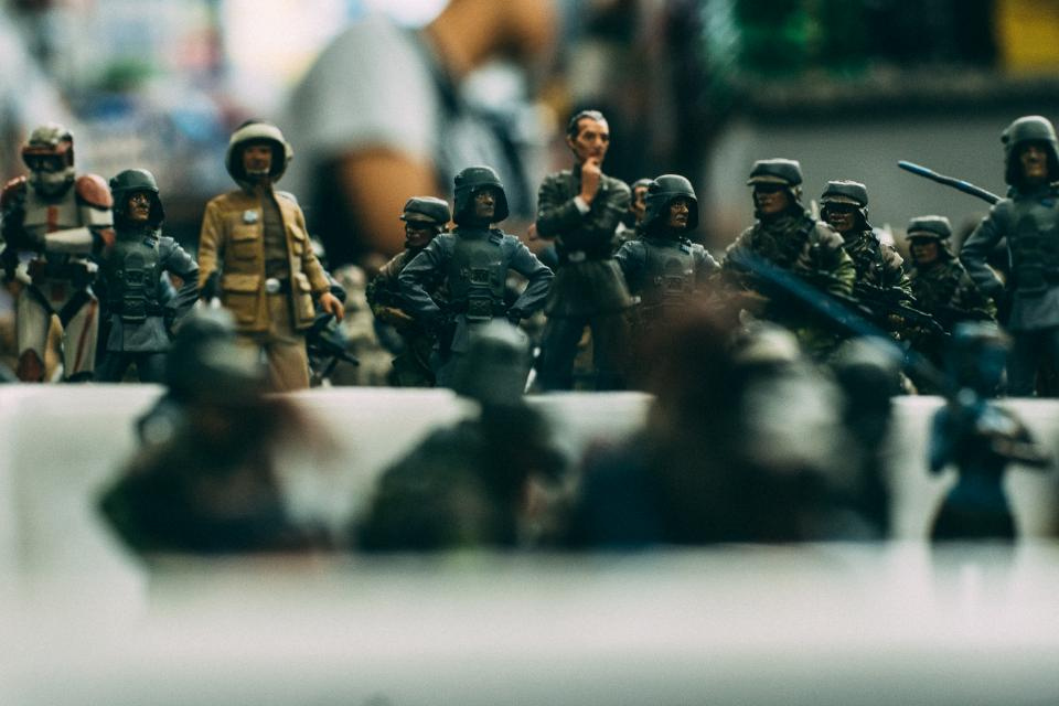 Free stock photo of toy soldier
