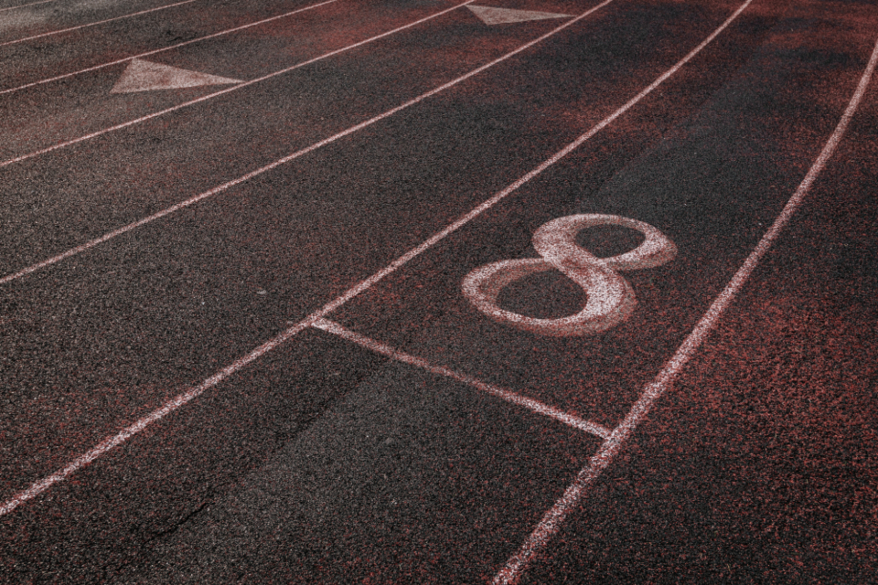 Free stock photo of track field