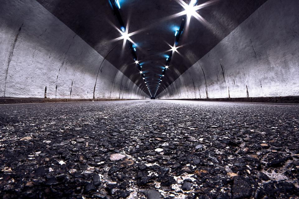 tunnel road pavement
