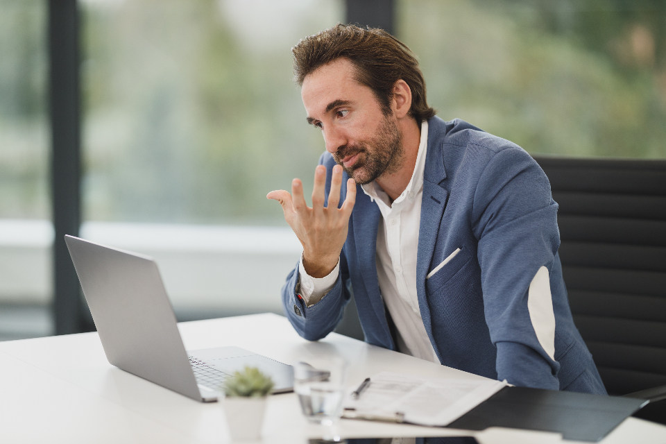 Free stock photo of video meeting