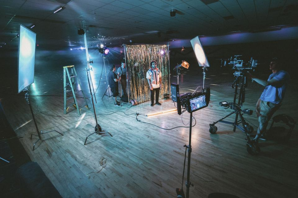 Free stock photo of video production