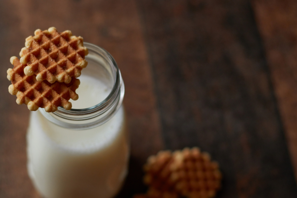 Free stock photo of waffle cookies
