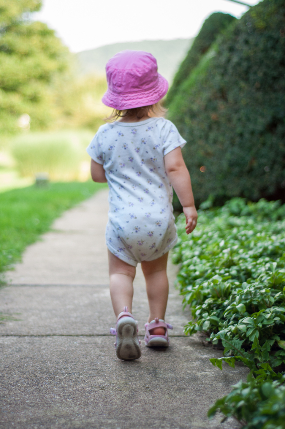 walking baby toddler