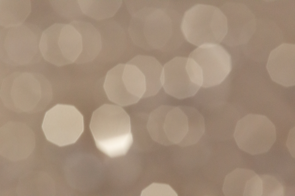 warm abstract bokeh