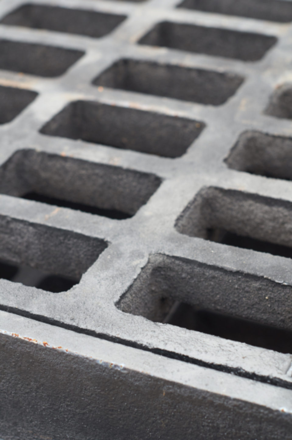 water grate iron
