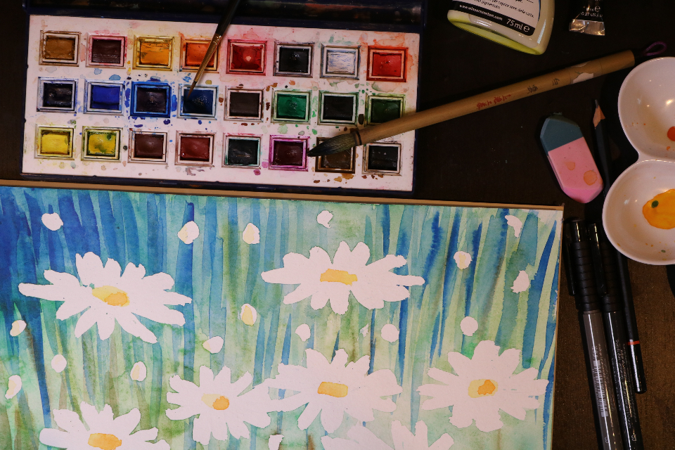 Free stock photo of watercolor watercolours
