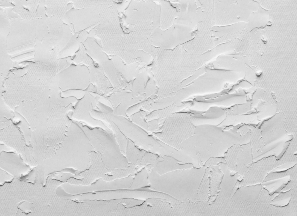 white plaster background