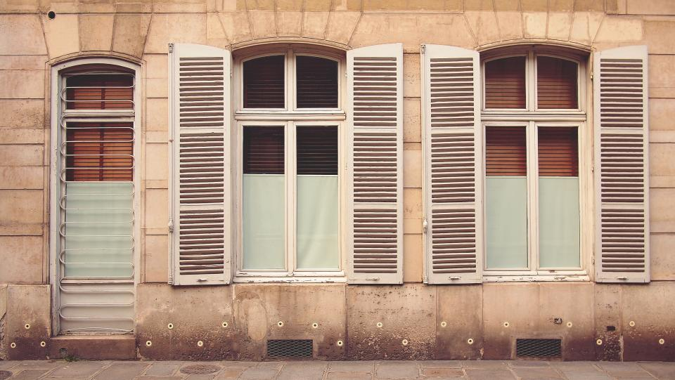windows shutter architecture