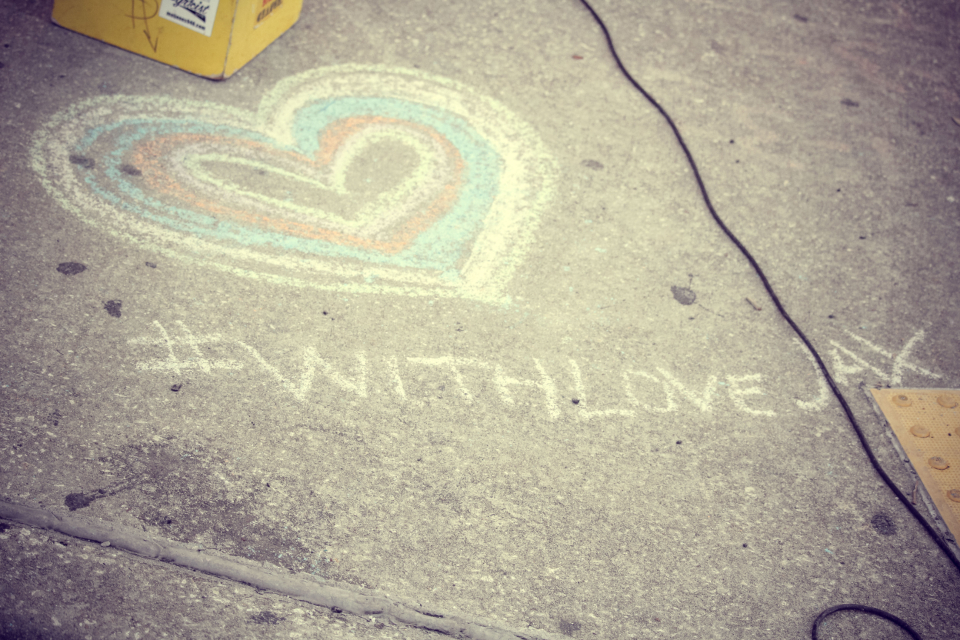 with love chalk