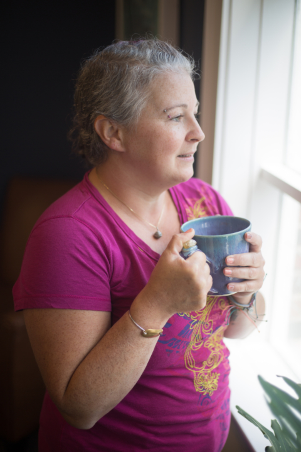 Free stock photo of woman cup