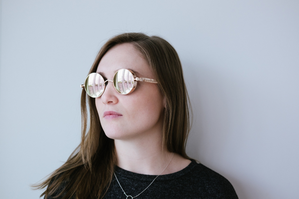 Free stock photo of woman glasses