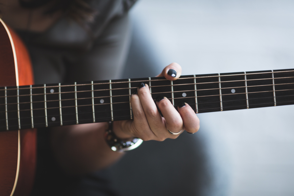 Free stock photo of woman playing