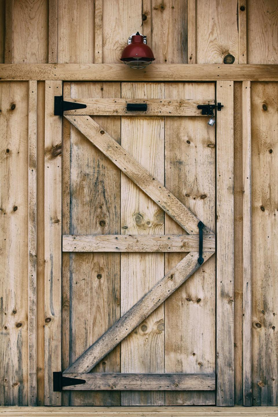 wood wooden door