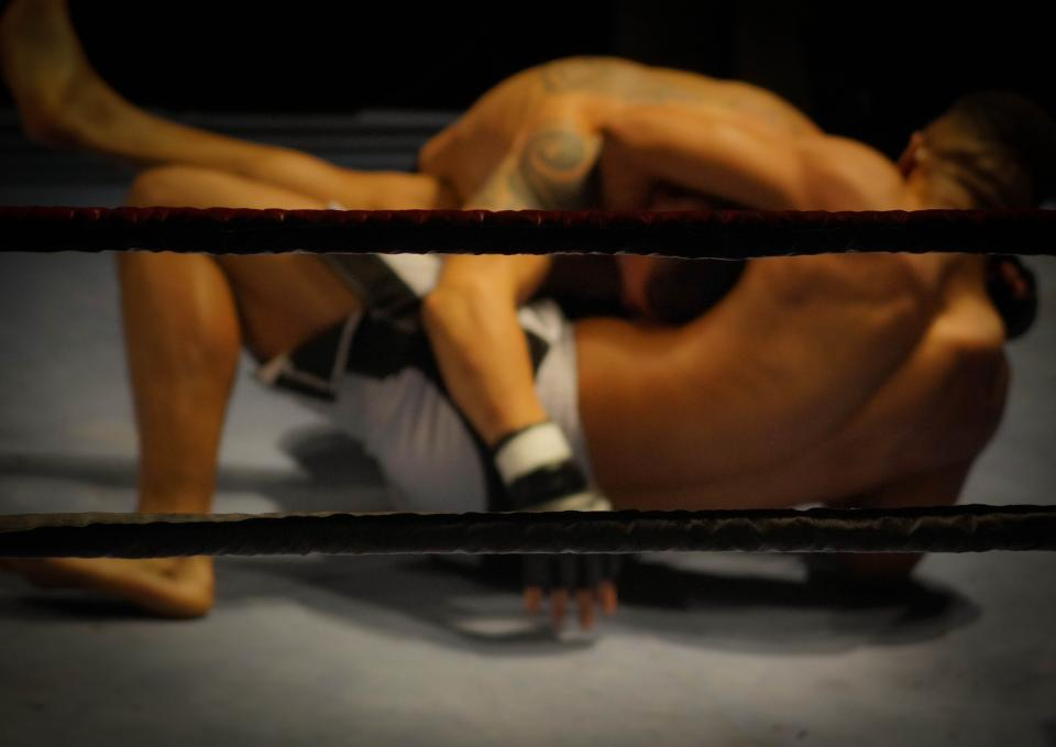 wrestling fighting mma