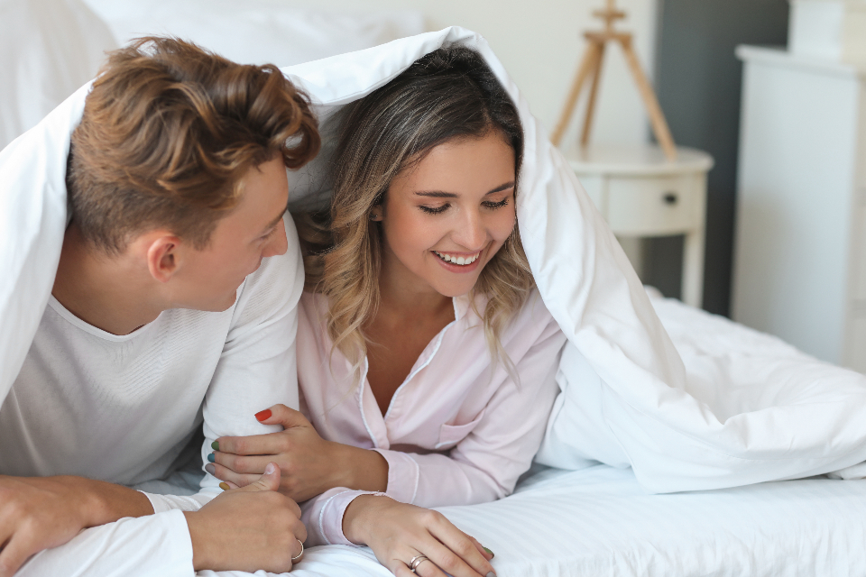 Free stock photo of young couple